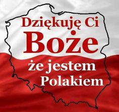 Thank u God that im pole Visit Poland, Polish Pottery, Geography, Historia, Poland, Funny Sayings, Nice Asses