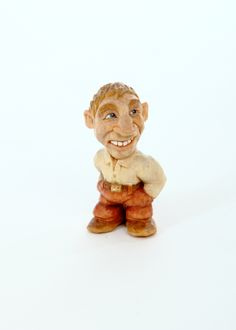 2 inch tall wood carving