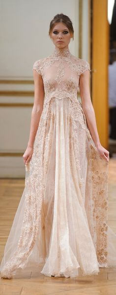 Zuhair Murad at Couture Fall 2013. <> Repined @kimludcom <> www.kimlud.com