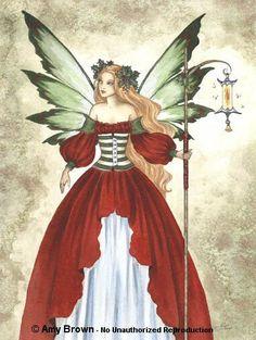 "Amy Brown ""Christmas Fairy"""
