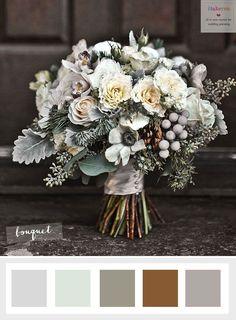 Choosing The Ideal Winter Wedding Flowers | itakeyou.co.uk #winterweddingflowers #anemonie #weddingflowers
