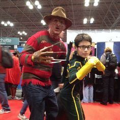 Some awesome family cosplay! #NYCC