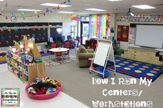 What is the one question I get asked more than any other? How do you run/manage/setup centers?  Today I am answering that question! (I realized I don't have a blog post that really spells out the go