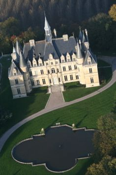 Chateau de Boursault, France Neoclassical Architecture, French Architecture, Beautiful Architecture, Beautiful Buildings, French Castles, Ardennes, Castle House, Chateaus, French Chateau