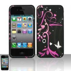 Any taker? Mysterious& luxurious hard case for iPhone 4 iPhone 4S here!ONLY $9.99 for Pink Flowers Heart Texture hard case!