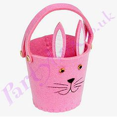 Packaging turns into / doubles as easter egg bucket / basket