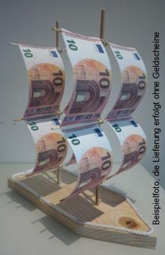 DIY Geldgeschenk zur Hochzeit  Segelschiff  money ideas