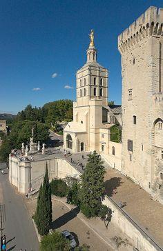 Cathedrale Notre-Dame des Doms, Avignon, France