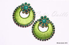 To order, plz what's app on 9704084116 Silk Thread Jhumkas, Silk Thread Earrings, Thread Jewellery, Fabric Jewelry, Beaded Necklace Patterns, Jewelry Patterns, Crochet Earrings, Indian Earrings, Silver Earrings