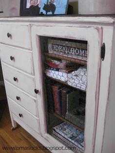 Oma Socks: Antique Children's Dresser ReDo... Part Duex