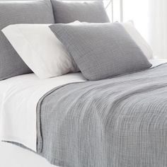 Aptly named, the Brooklyn Matelasse Coverlet belongs in a contemporary home with tons of style. This super lightweight matelassé coverlet is as soft and comfort