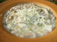 Everyday Dutch Oven: White Chicken Chili with Aged Cheddar