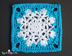 My last blog post showed a quick little crochet snowflake pattern and now I will show you how to alter that snowflake slightly and transform it into a granny square! Make an afghan entirely of snowflakes or use them as filler squares for a winter themed blanket. They would also go together perfectly with my …