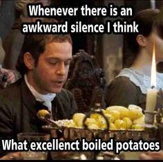 Boiled Potatoes Pride And Prejudice Tags: pride and prejudice mr.