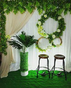 Wedding Stage Decorations, Engagement Decorations, Backdrop Decorations, Wedding Themes, Diy Photo Backdrop, Backdrop Design, Rustic Backdrop, Luxury Wedding Decor, Rustic Wedding