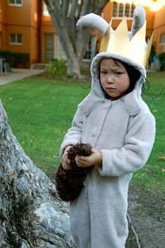 Max from Where the Wild Things Are: Homecrafted Halloween!