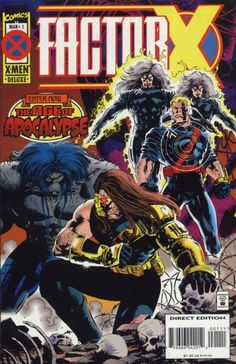 Factor X # 1 by Steve Epting
