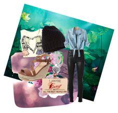 """Random#7"" by marshmallowkuini ❤ liked on Polyvore featuring moda, Citizens of Humanity, Accessorize, Joe's Jeans e Cecilia Ma"
