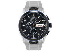 Relógio Masculino Orient MBSSC112 P1SX - Analógico Resistente a Água Cronógrafo com as melhores condições você encontra no Magazine Jbtekinformatica. Confira!