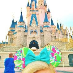 Lilly Pulitzer Minnie Mouse Ears- this is absolute perfection