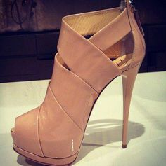 added to my list! nude booties.