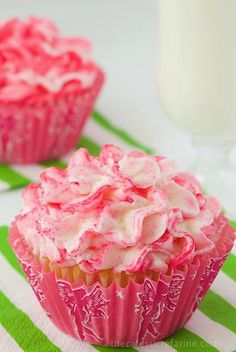 "Best Ever Vanilla Cupcakes ""These Look Absolutely Delicious!!"""