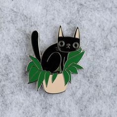 Pooping cat enamel pin badge image 0 Some Cards, Blue Cats, To Loose, Best Christmas Gifts, Pin Badges, Crazy Cats, Cat Lovers, Etsy Seller, Enamel