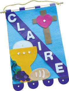 St. Jude Shop, Inc. - First Holy Communion Banner Kit, $15.00