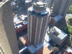 Johannesburg View from atop - Am I high or is that building small?