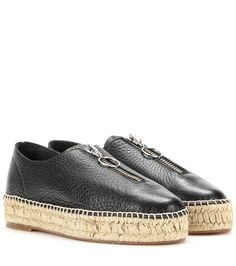 Alexander Wang Devon Leather Espadrille-style Sneakers For Spring-Summer 2017