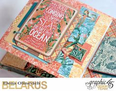 Nautical Album, by Elena Olinevich, Voyage Beneath the Sea, Product by Graphic45, Photo4.jpg