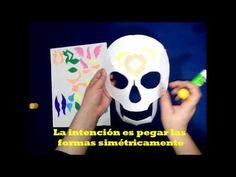 Tutorial Máscara Calavera de Azúcar - YouTube
