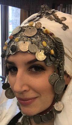 Headdress married woman's Belgrade area/Serbia