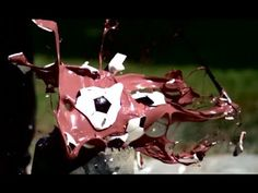 Destroying Piggy Banks in Super Slow Motion [Slow Mo Lab] #slowmotion