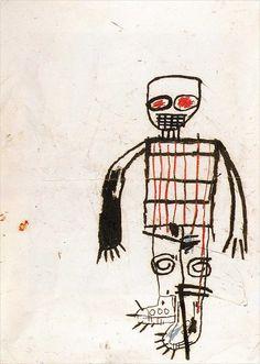 Jean-Michel Basquiat · Self Portrait · 1983 · Private Collection