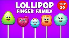 Cake Pop Finger Family Collection | Top 10 Finger Family Collection | Finger Family Songs - YouTube