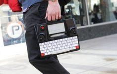 Hemingwrite electronic paper screen typewrite @ Kickstarter