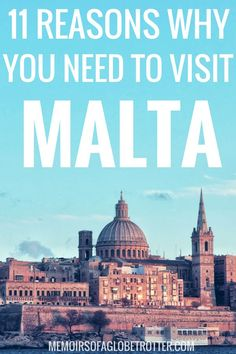 #Malta has lots to o