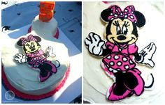 Big Bear's Wife {Recipes that are Angie Tested and BigBear Approved!}: Minnie Mouse Frozen ButterCream Transfer Birthday Cake