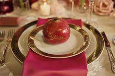 Apple Pie and Shabby Style: Decorare col rosso: la pomegranate!
