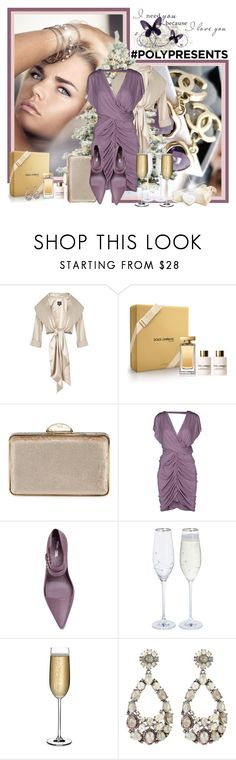 """""""#PolyPresents: Party Dresses"""" by croatia ❤ liked on Polyvore featuring Adrianna Papell, Dolce&Gabbana, Judith Leiber, Pinko, Melissa, Nude, Bavna, Katie Loxton, contestentry and polyPresents"""