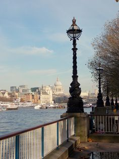 The Southbank in London, St Paul's Cathedral in the distance, by B Lpwe