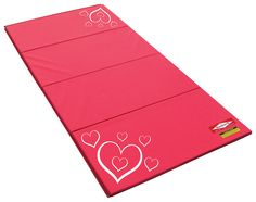 Heart Mats Great For Little Gymnasts