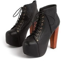 Jeffery Campbell Lita Shoes! Love the way you can dress them down or up! My fave fall shoes!