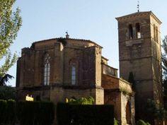 """Convento de San Miguel de Huesca, también conocido como """"Las Miguelas"""". Este convento fue edificado en extramuros de la ciudad musulmana por mandato de Alfonso I el Batallador en 1110."""