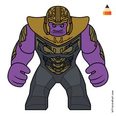 Learn Drawing Lego Thanos with this step-by-step tutorial and video. Lego Batman, Lego Marvel, Captain Marvel, Simpsons Drawings, Drawing Cartoons, Angry Birds Characters, Superhero Characters, Baby Toothless, Lego Thanos