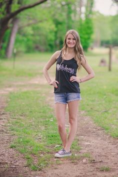 Gray Oklahoma Home Sweet Home Tank available at J. Lilly's Boutique or jlillysboutique.com