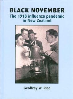 "Read ""Black November The 1918 Influenza Pandemic in New Zealand"" by Geoffrey Rice available from Rakuten Kobo. This book details New Zealand's worst public health crisis, and its worst natural disaster: over New Zealanders di. Nz History, Medical History, Thomas Keneally, Albert Park, Influenza, New Chapter, Man Alive, Natural Disasters, Public Health"