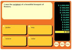 Context Clues Millionaire Game. These Millionaire games are great to put on my blog resources.