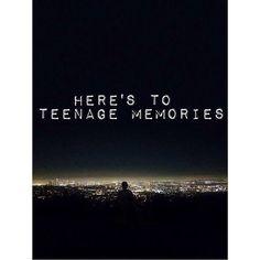 Hoping Luke had very fond teenage memories and I'm crying now okay bye